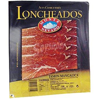 MONTE NEVADO jamón Mangalica en lochas sobre 100 g