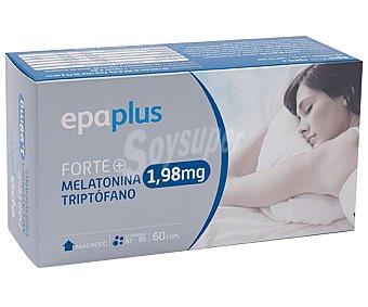 Epaplus Complemento alimenticio con melatonina y triptófano 60 caps
