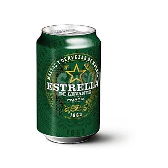 Estrella Levante Cerveza Lata de 33 cl