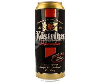 Kostritzer Cerveza negra alemana Lata de 50 centilitros