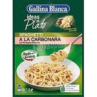 Gallina Blanca Spaghetti a la carbonara Sobre 171 g