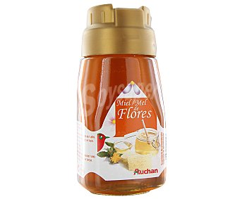 Auchan Miel de flores en dosificador 500 gramos