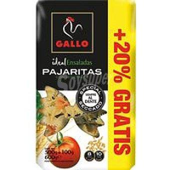 Gallo Pajaritas con vegetales Paquete 500 g + 20%