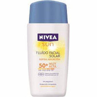 Nivea Sun Fluido facial F50 Caja 50 ml