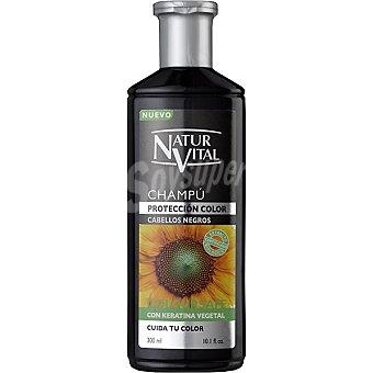 Naturaleza y Vida Champú henna reflejos negros Frasco 300 ml