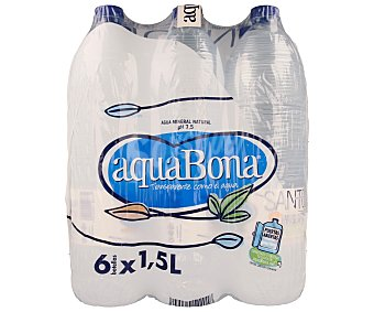 Aquabona Agua botella 6x1,5l