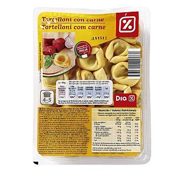 DIA Tortelloni de carne Bandeja 250 gr