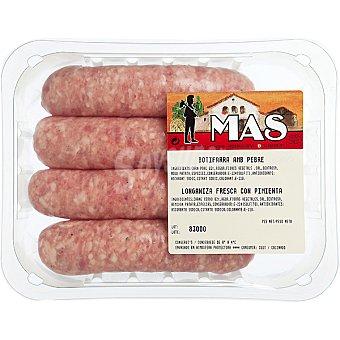 E.MAS Butifarra con pimienta Bandeja 400 g