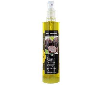 Moli de Pomeri Aceite de oliva virgen extra en spray aromatizado a la trufa negra Botella de 250 ml