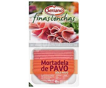 Carnicas Serrano Mortadela de Pavo Skin 200 Gramos