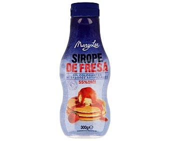 MARY LEE Sirope de fresa sin colorantes  envase 300 g