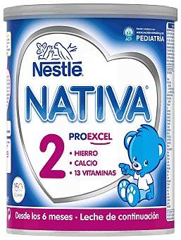 Nativa Nestlé Leche de continuación 2 Lata 800 g