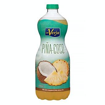 La Verja Bebida piña coco Botella 1500 ml