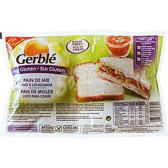 Gerblé Pan de molde rico en fibras sin gluten Envase 300 g
