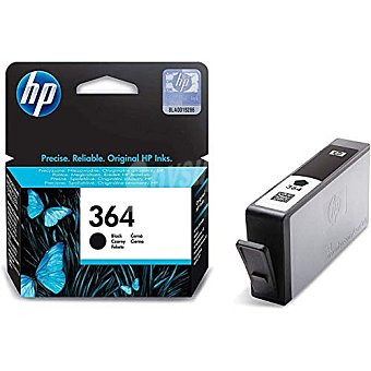 HP Cartucho de Tinta HP 364 - Negro