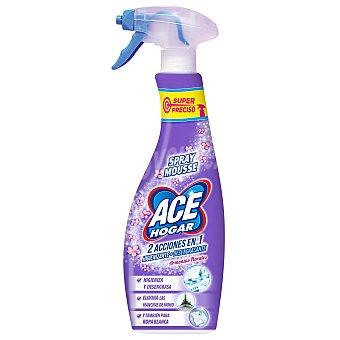 Ace Limpia hogar spray mousse acción higienizante + desengrasante aroma armonía florares Spray 700 ml