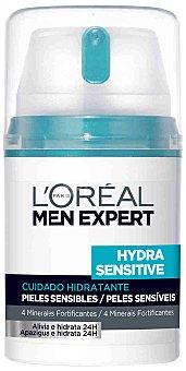 L'OREAL Men expert Cuidado hidratante 24 h piel sensible Hydra Sensitive Frasco 50 ml