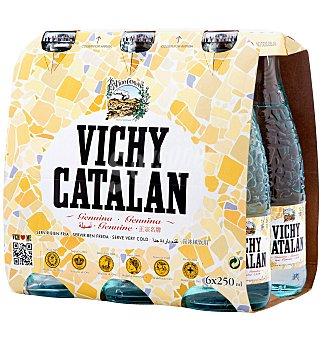 Vichy Catalán Agua con gas 6 unidades x 25 cl