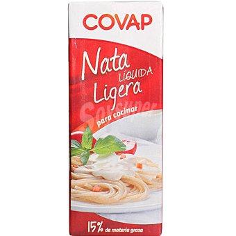 Covap Nata líquida ligera para cocinar 15% M. G Brik 200 ml
