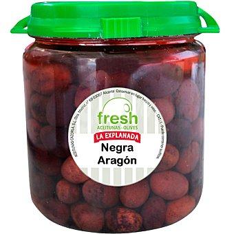 La Explanada Aceituna negra de Aragón Fresh Envase 375 g