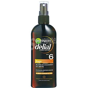 Delial Garnier Aceite F6 Spray 150 ml