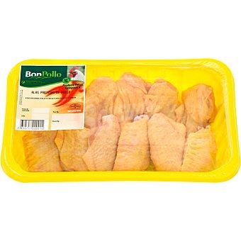 BONPOLLO Alas partidas de pollo bandeja 500 g peso aproximado Bandeja 500 g