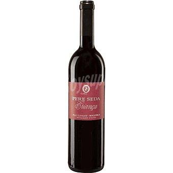 Pere Seda Vino tinto negre crianza D.O. Pla i Llevant Mallorca botella 75 cl Botella 75 cl