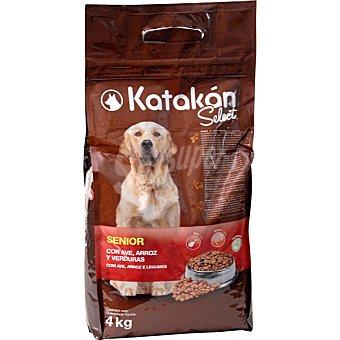 KATAKÁN SELECT Senior Alimento para perros con ave, arroz y verduras bolsa de 4 kg