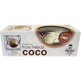 La Ibense Bornay Coco helado estuche 320 ml dos unidades
