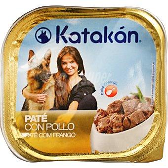 Paté con pollo para perros Tarrina 300 g