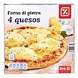 Pizza 4 quesos caja 400 gr 400 gr DIA