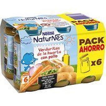 Nestlé Tarrito pollo con verduras pack 6x250 g