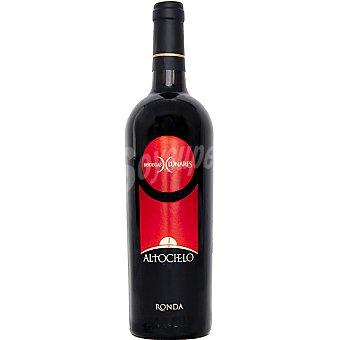 ALTOCIELO Vino tinto syrah de la Serrranía de Ronda botella 75 cl 75 cl