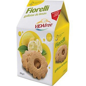VIDAFREE Galletas de limón sin gluten Envase de 200 g