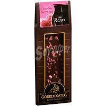 Gorrotxategi Chocolate negro 70% rosas Tableta 80 g