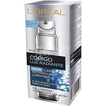 Código Juventud L'Oréal Paris Sérum iluminador luz radiante anti-manchas tubo 30 ml Tubo 30 ml