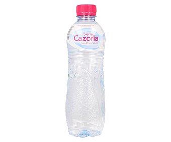 Sierra Cazorla Agua mineral natural Botella de 50 centilitros