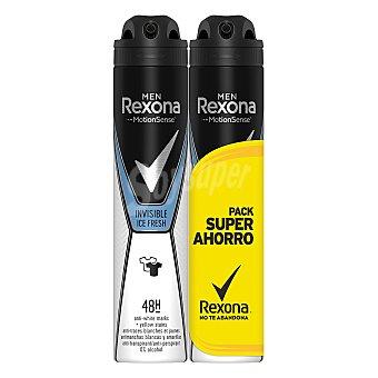 Rexona Desodorante en spray para hombre crystal Pack de 2 unidades de 200 ml