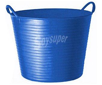 Altuna Cubo flexible multiuso de plástico virgen de color azul, con capacidad de y para uso alimentario altuna 26 litros