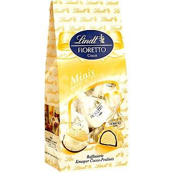 Lindt Fioretto mini bombones rellenos de crema de coco bolsa 100 g