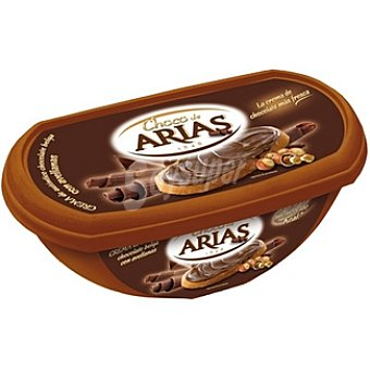 Choco de Arias Crema de chocolate belga con avellanas Tarrina 250 g