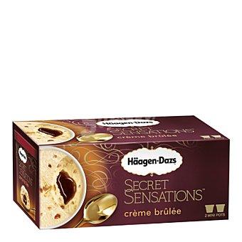 Secret Sensation Helado creme brulee Pack 2x100 ml