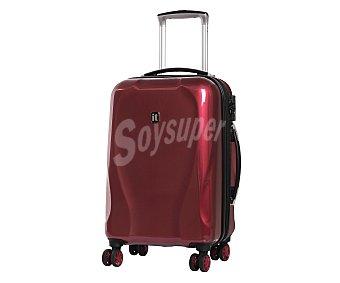 Itluggage Maleta de 55cm, con 8 ruedas pivotantes y estructura rígida, expansible, de color rojo, AIRPORT.