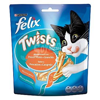 Purina Felix Snack para gato Twist de cangrejo&pescado Sobre 50 g