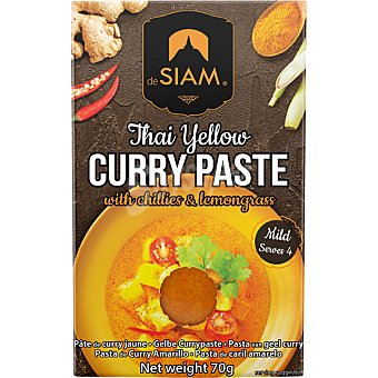 deSIAM Salsa de curry amarillo sobre 70 g sobre 70 g