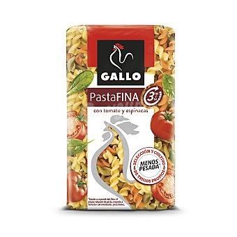 Gallo Hélices extrafina+ con espinacas y tomate Paquete 400 gr