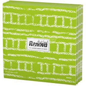 Renova Servilletas fabric verde Paquete 20 unid