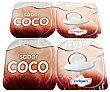 Yogur sabor coco  Pack 4 x 125 g Celgán