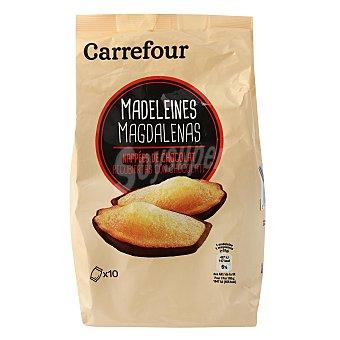 Carrefour Magdalenas recubiertas de chocolate 250 G 250 g