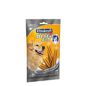 Vitakraft Snack dental 2 en 1 para perros medianos  Paquete 7 unidades (350 g)